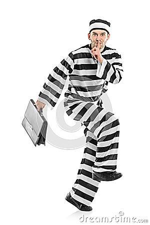 Het ontsnappen van de gevangene