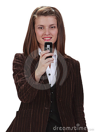 Het ontspruiten van de telefoon