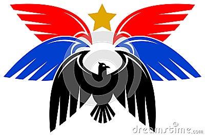 Het ontwerp van de adelaar
