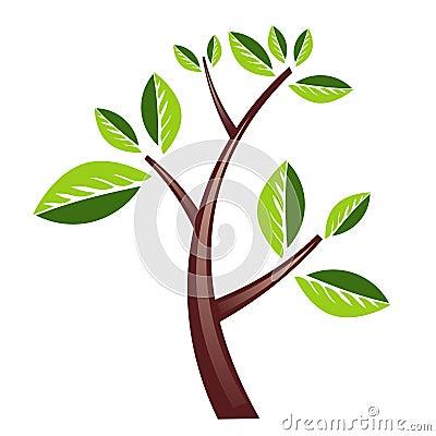 Het ontwerp van de boom