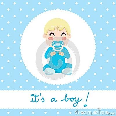 Het Ontwerp van de Jongen van de baby