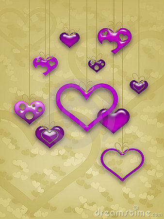 Het Ontwerp van de Kaart van de Dag van de valentijnskaart
