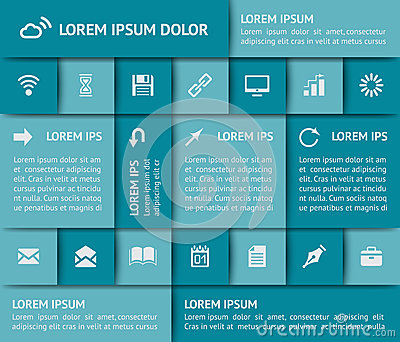 Het ontwerpelementen van het Web