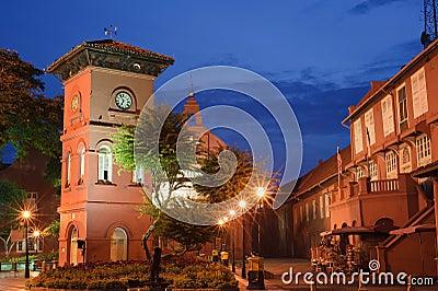 Het oriëntatiepunt van Malacca