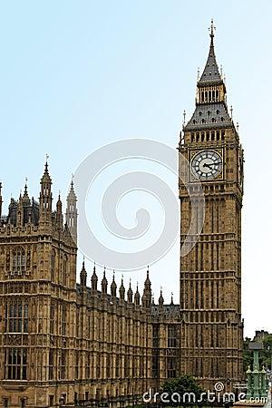 Het oriëntatiepunt van Londen