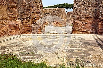 Het oude roman moza ek ostia antica van neptunus van baden for Mr arredamenti ostia antica