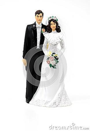 Het Paar van het huwelijk