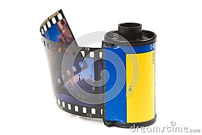 Het pak van de film
