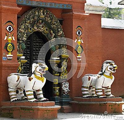 Het Paleis van Bahal van Kumari