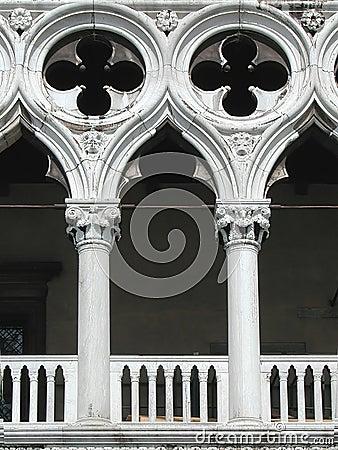 Het Paleis van doges, Venetië, Italië