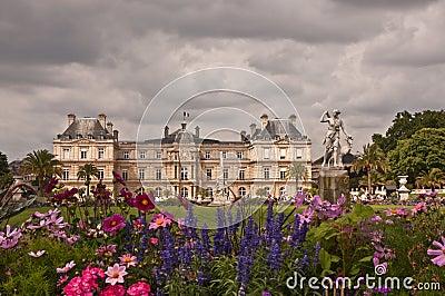 Het Paleis van Luxemburg