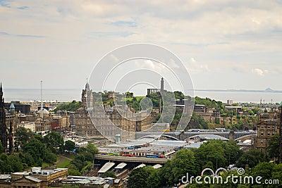 Het Panorama van Edinburgh