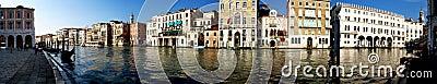Het panorama van Venetië