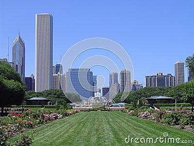 Het Park van de toelage - Chicago