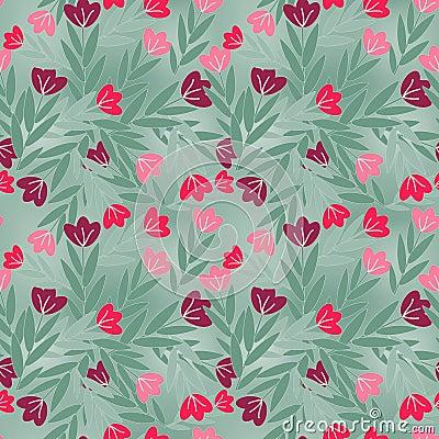 Het patroon van bloemen
