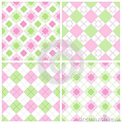 Het patroon van de gingang