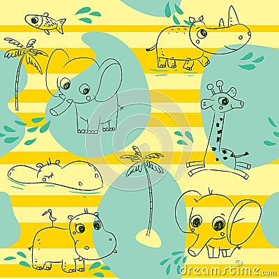 Het patroon van dieren