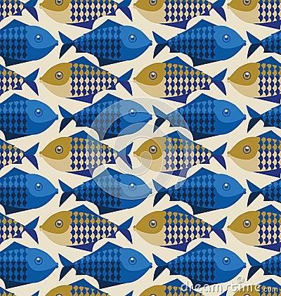 Het patroon van vissen
