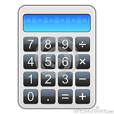 Het Pictogram van de calculator