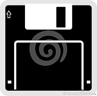 Het Pictogram van de Floppy disk