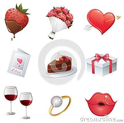 Het pictogram van de liefde
