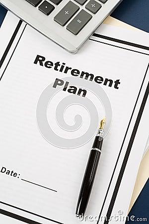 Het Plan van de pensionering