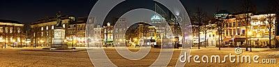 Het Plein, Den Haag Editorial Stock Photo