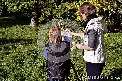 Het portret van de herfst