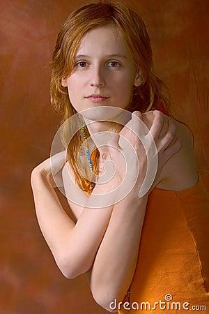 Het portret van de tiener