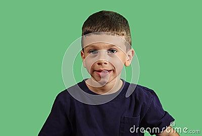 Het Portret van het kind