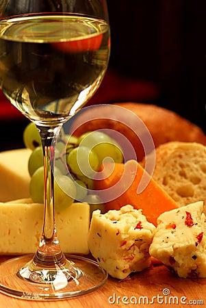 Het proeven van de wijn