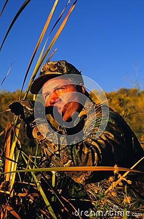 Het Roepen van de Jager van de eend