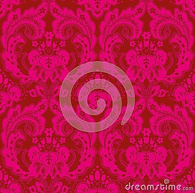 Het rood-roze van het behang