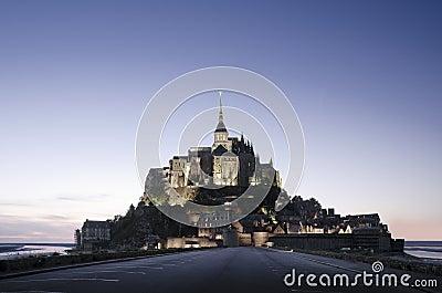 Het Saint Michel van Mont, Frankrijk