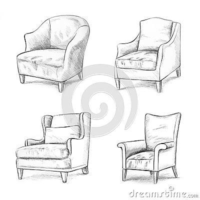 De of het stoel