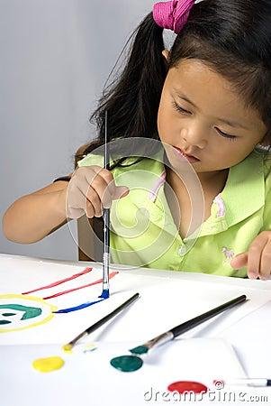 Het schilderen van 2