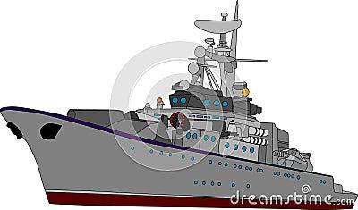 Het schip van de slag