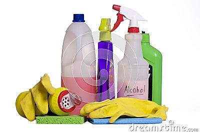 Het schoonmaken levert 5