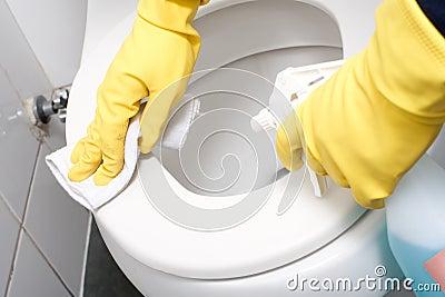 schoonmaken in huis