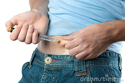 Het schot van de insuline