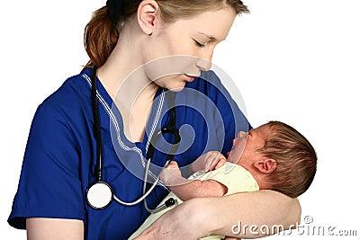 Het Schreeuwen van de baby