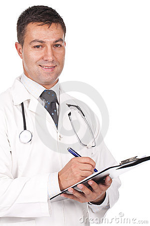 Het schrijven van de arts voorschriften