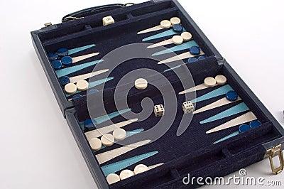 Het Spel van het backgammon