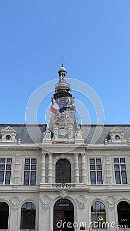 Het stadhuis van Poitiers