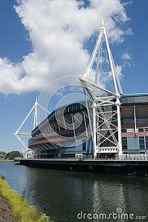 Het Stadion van het Park van wapens, Cardiff