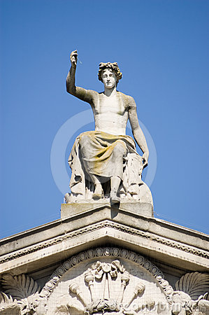 Het standbeeld van Apollo, Ashmoleon Museum, Oxford