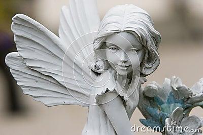 Het standbeeld van de fee