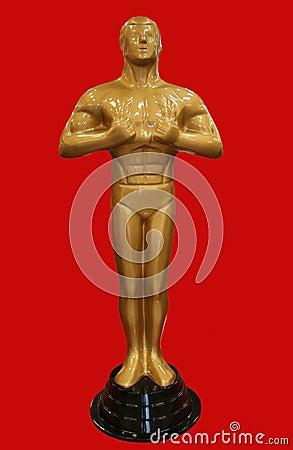 Het standbeeld van Oscar