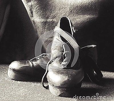 Het stappen schoenen