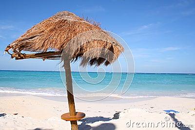 Het strand van Cancun